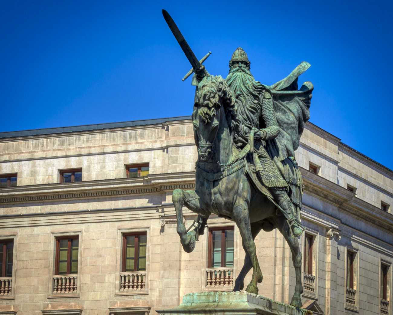 Estatua del Cid Burgos