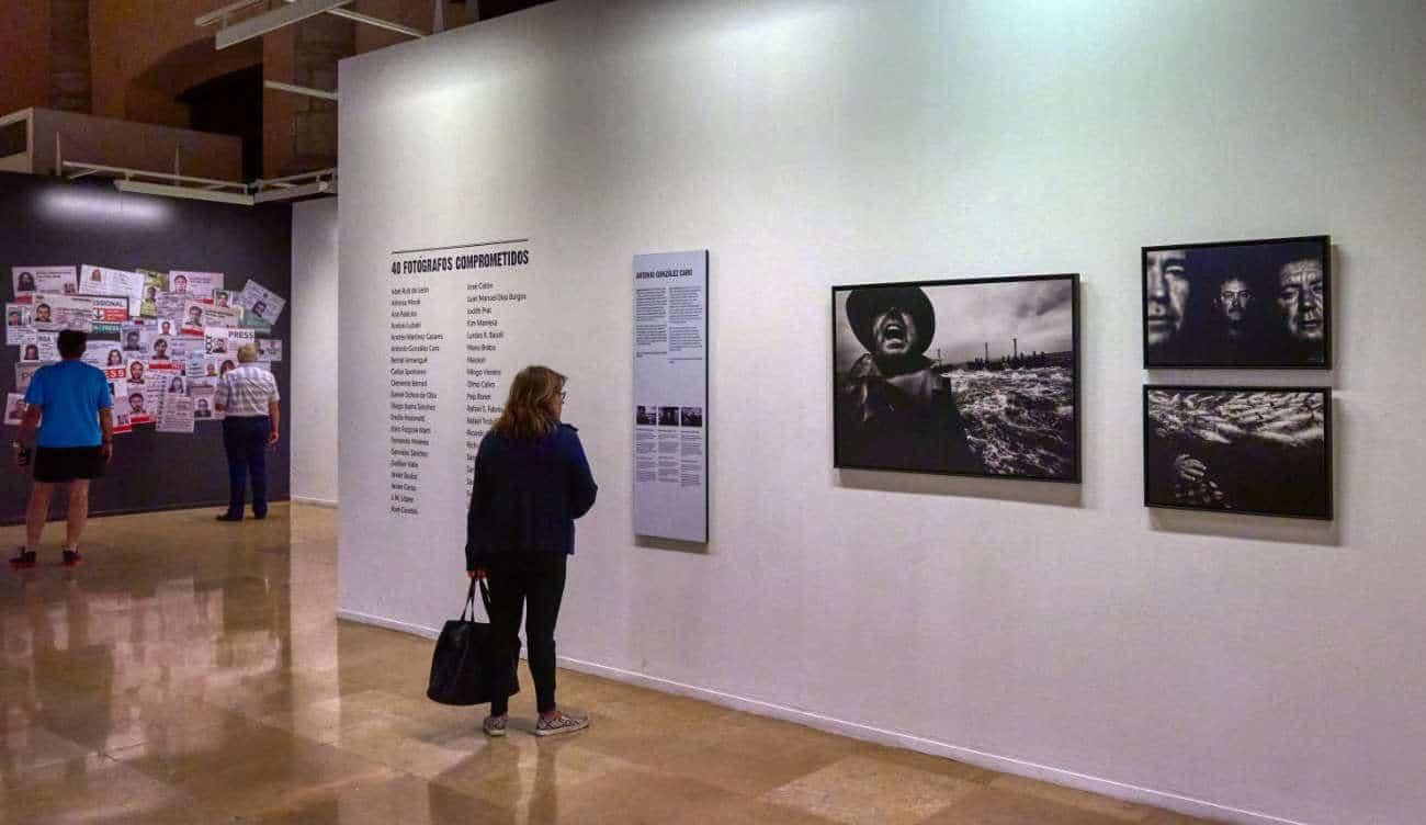 Sala de exposiciones La Lonja Zaragoza