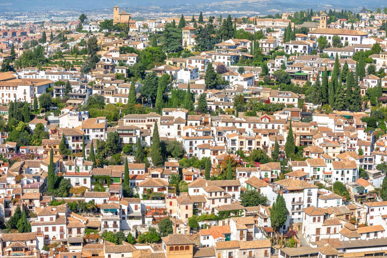 Callejuelas del Albaicín Granada