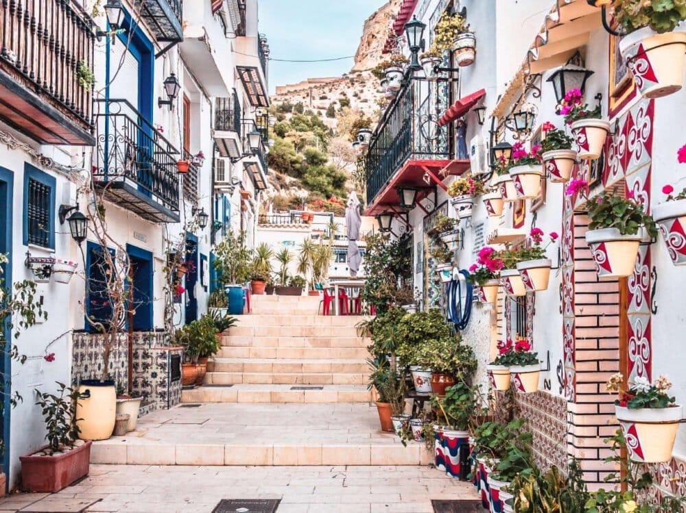 El Barrio de Santa Cruz Alicante
