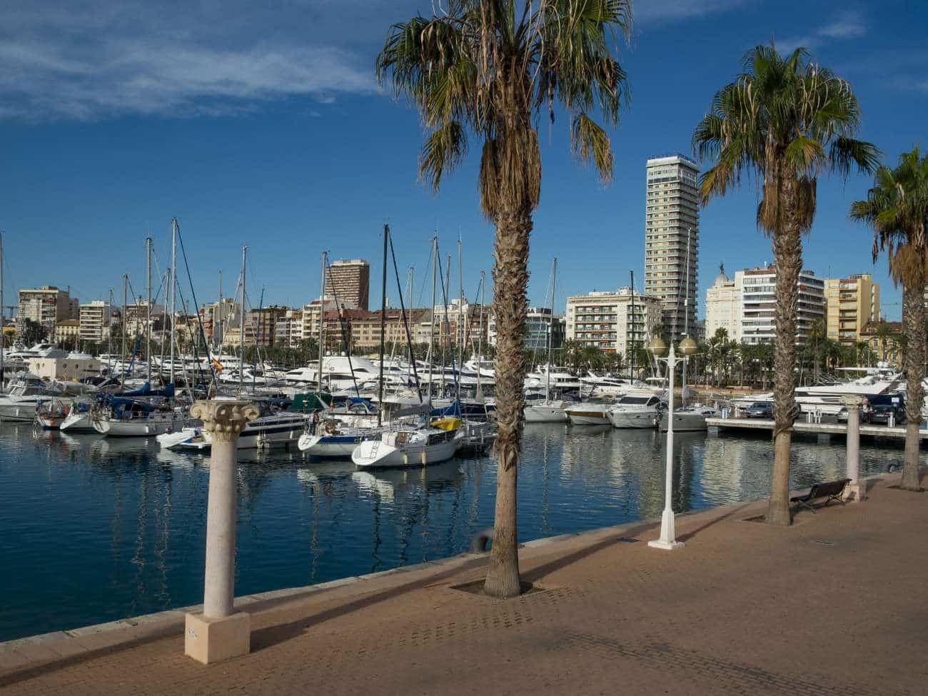 Paseo marítimo Alicante