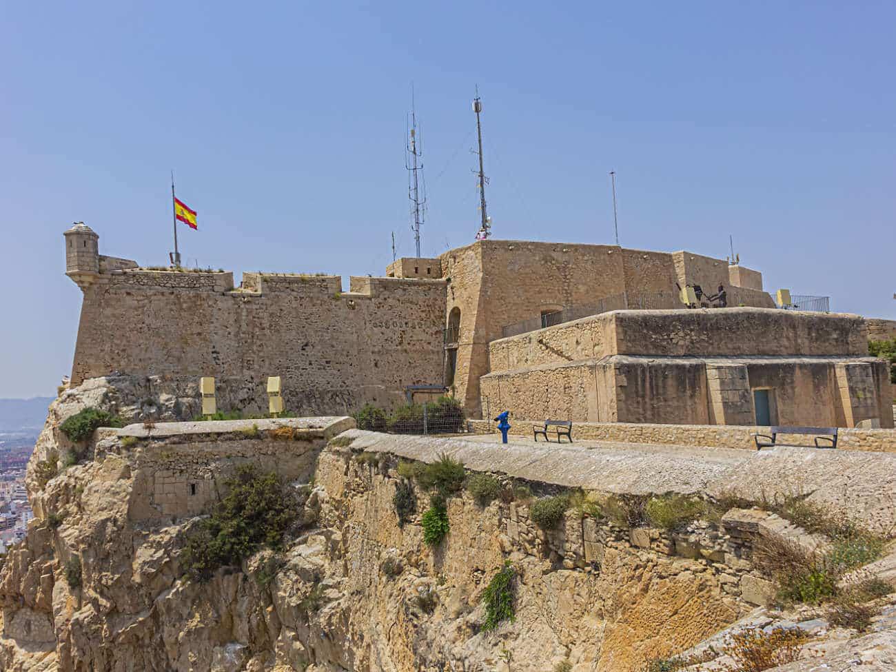 Castillo de Santa Bárbara Alicante