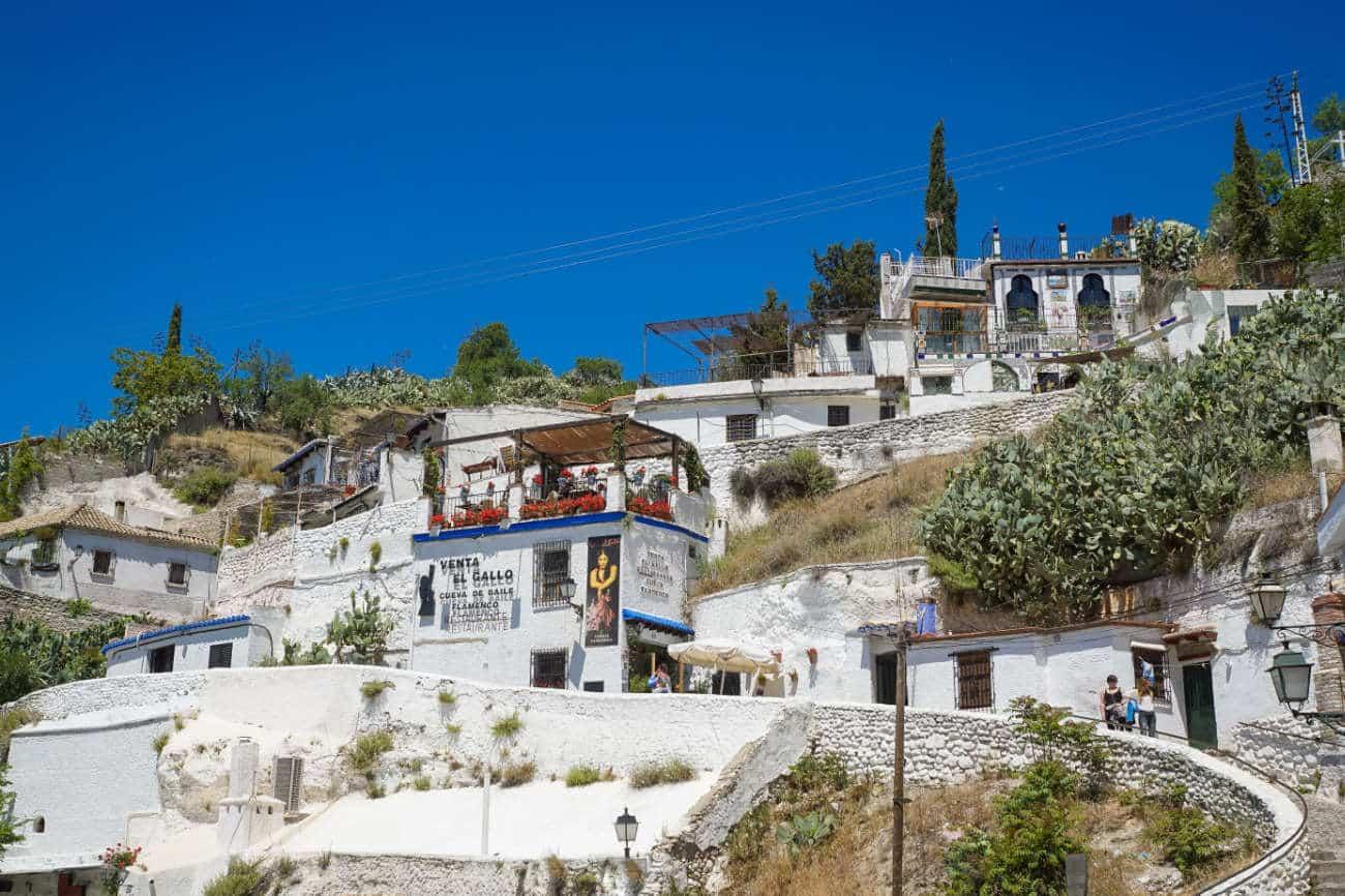 Barrio del Sacromonte Granada