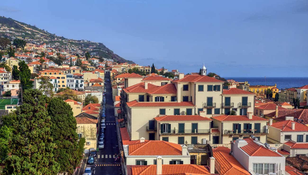 Teleférico de Monte Funchal Madeira