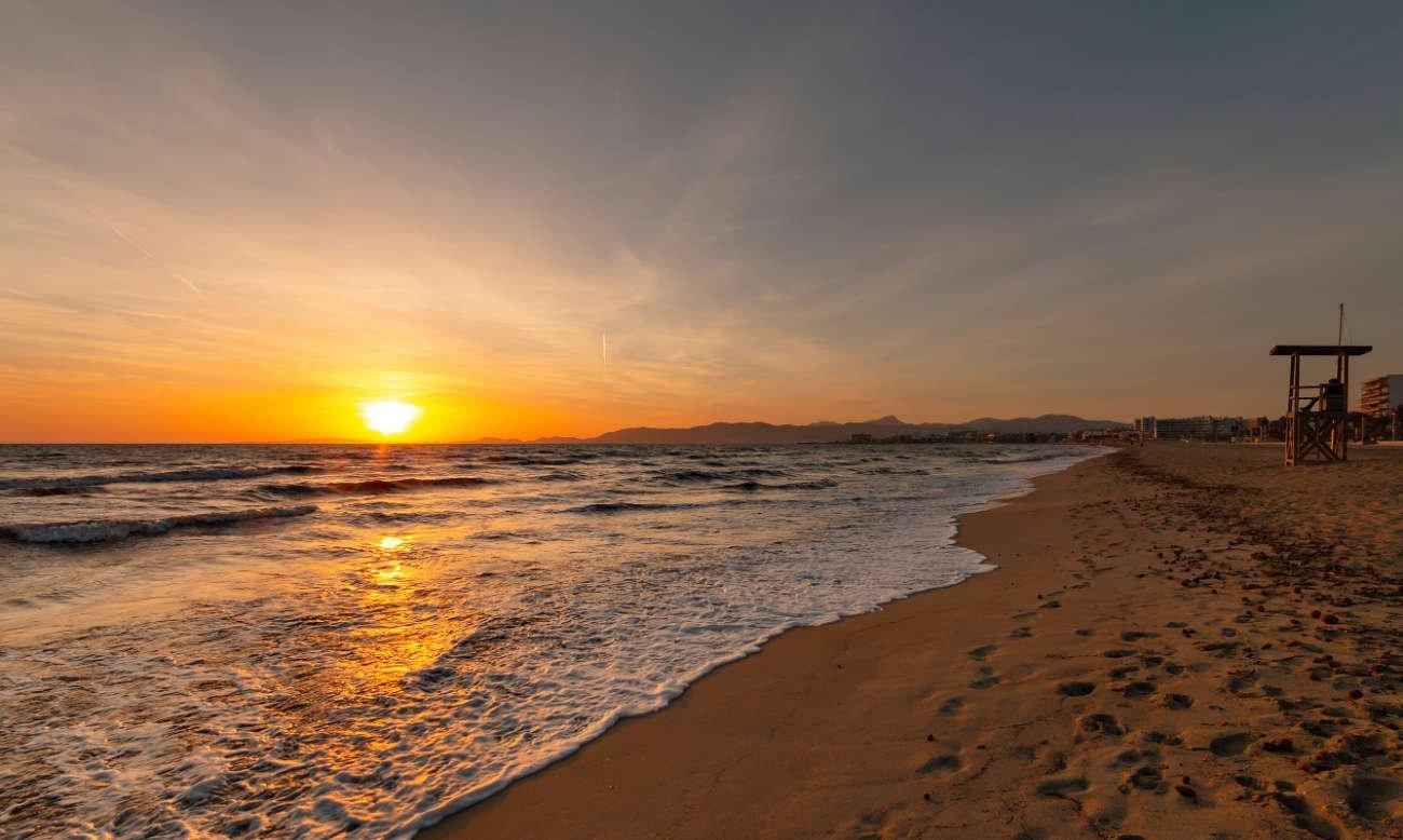 Las playas de Palma de Mallorca