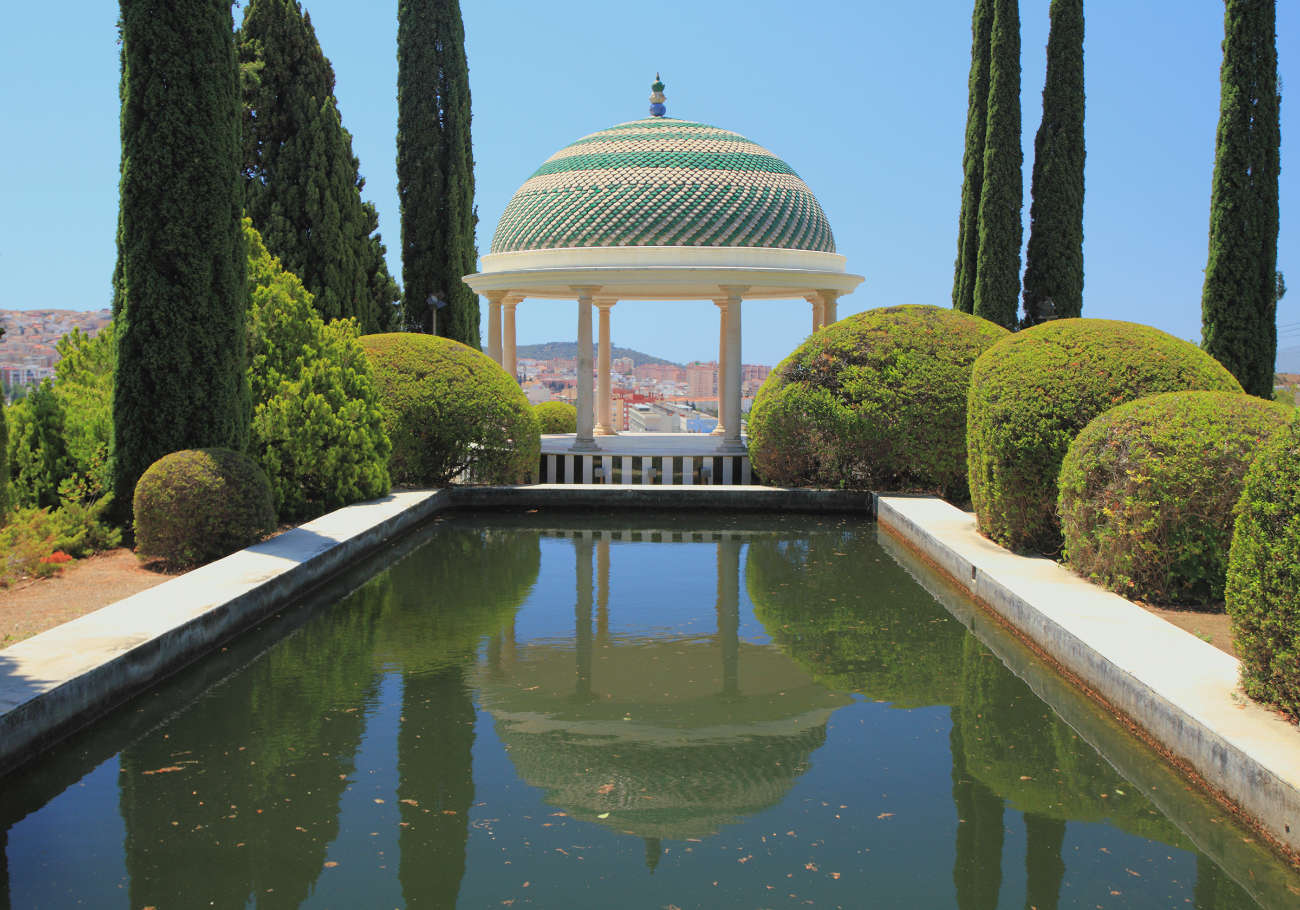 Mirador del Jardín Botánico Histórico de La Concepción Malaga