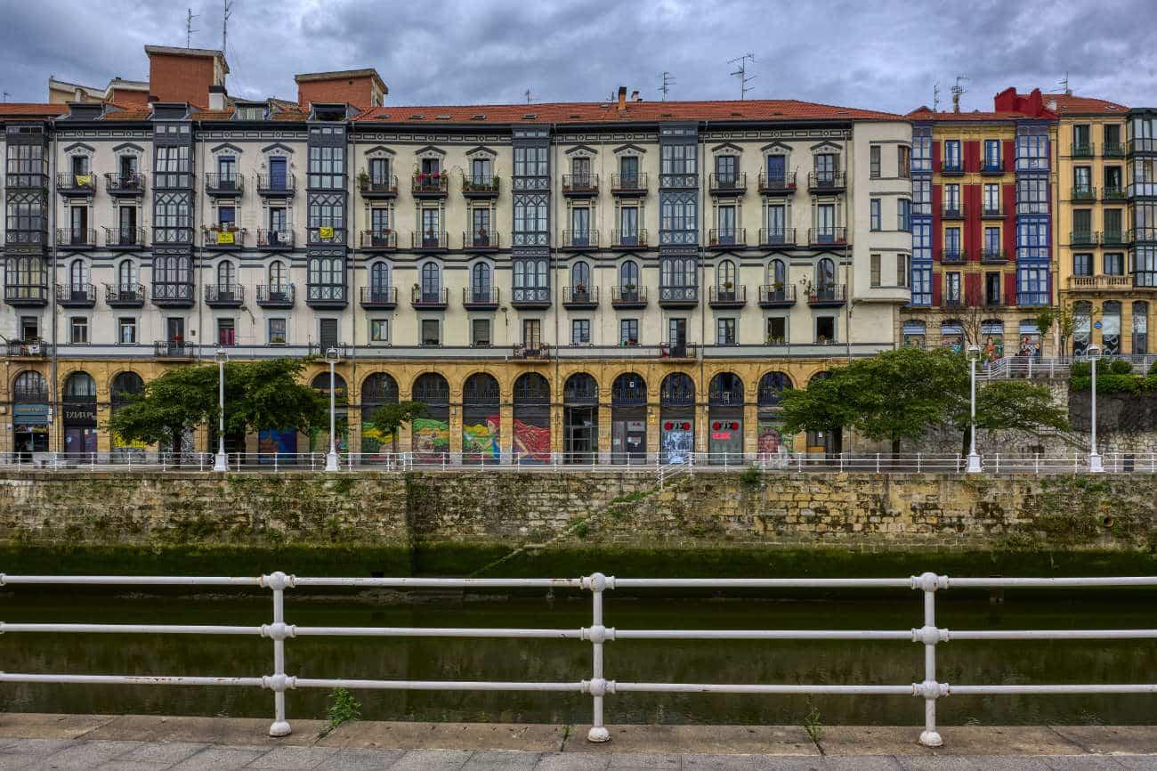 Muelle de Marzana Bilbao