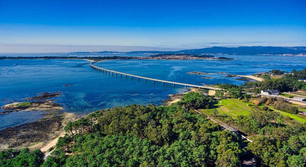 Puente Isla de Arousa