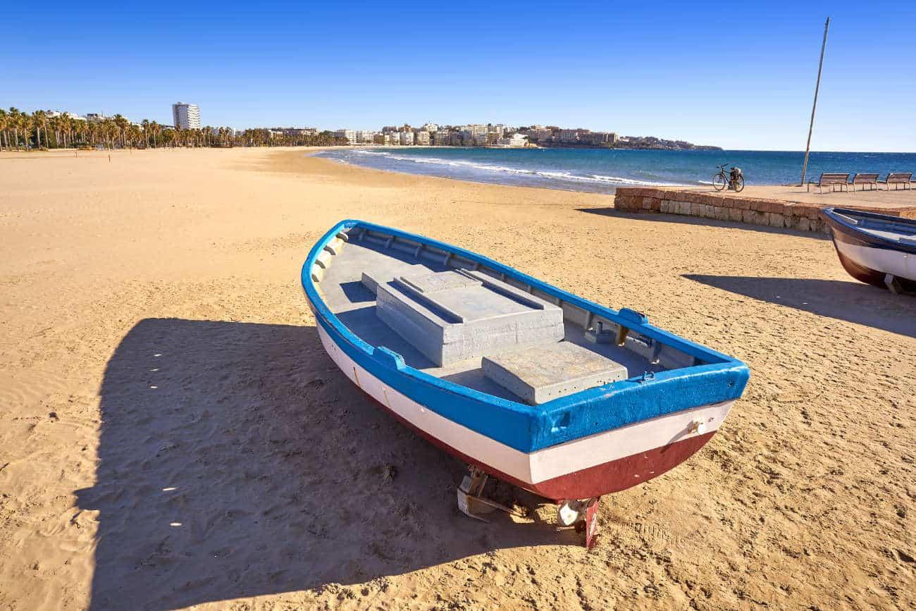 Las playas de Salou