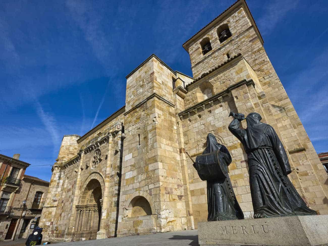 La iglesia de San Juan Zamora