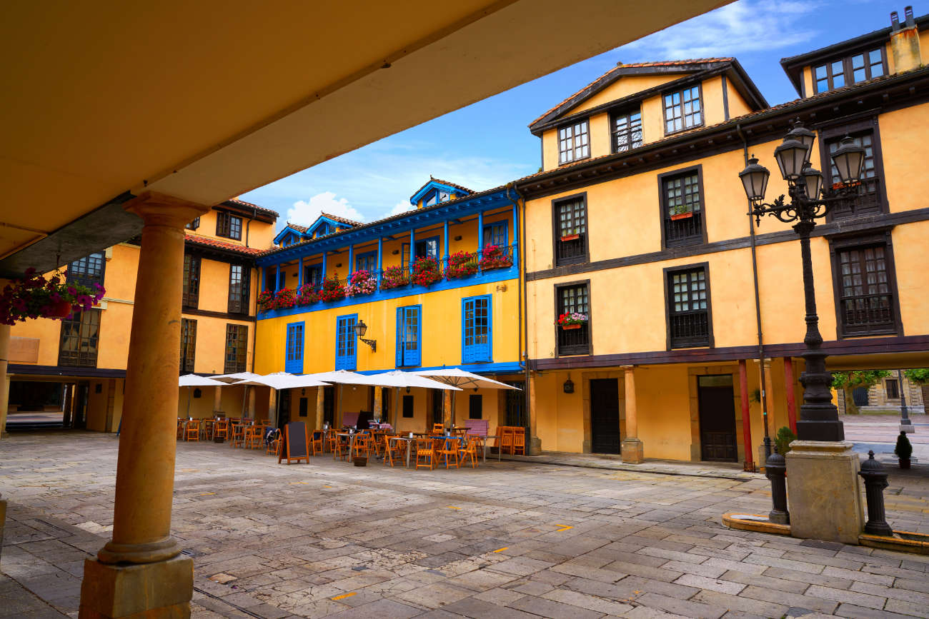 Plaza del Fontán Oviedo
