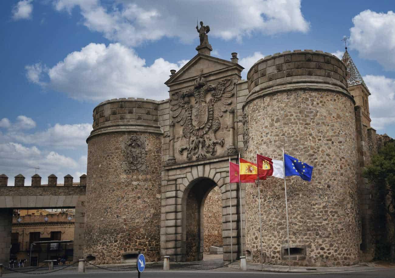 Puerta de Bisagra Toledo