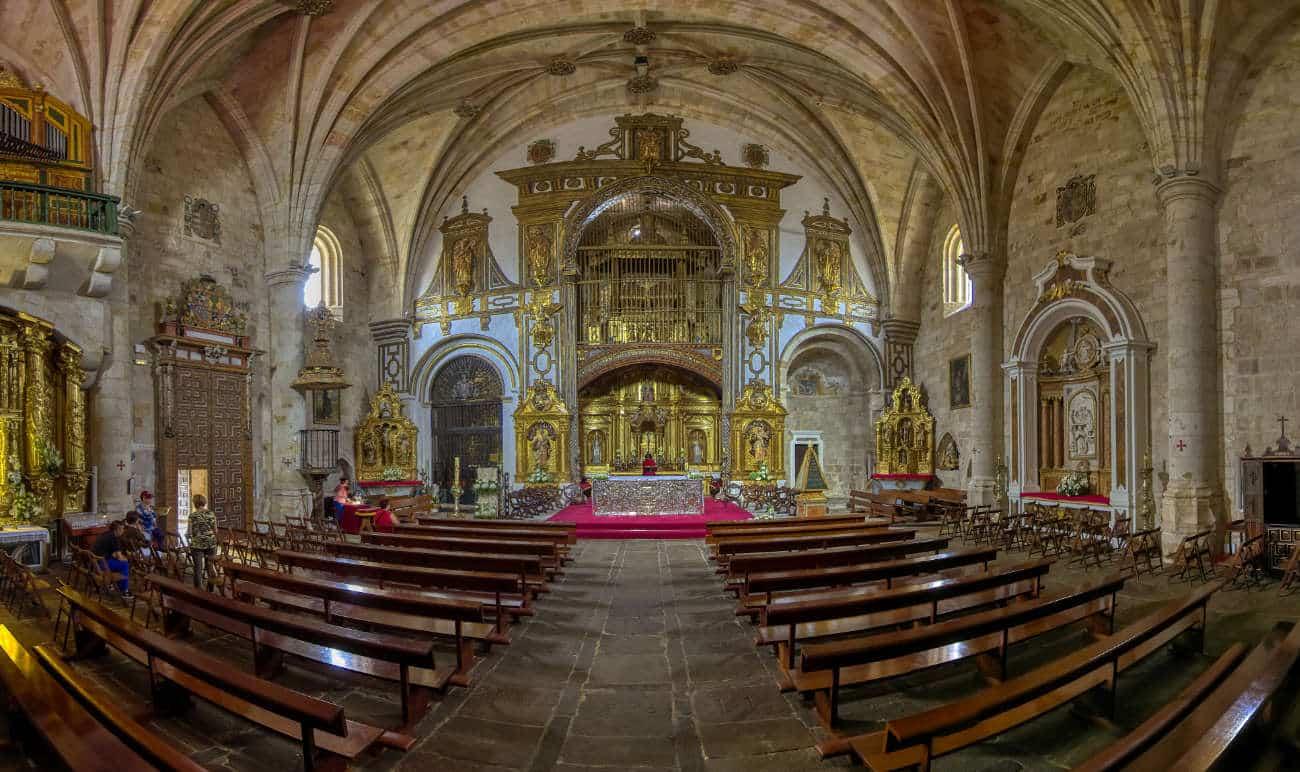 La iglesia de San Pedro y San Ildefonso