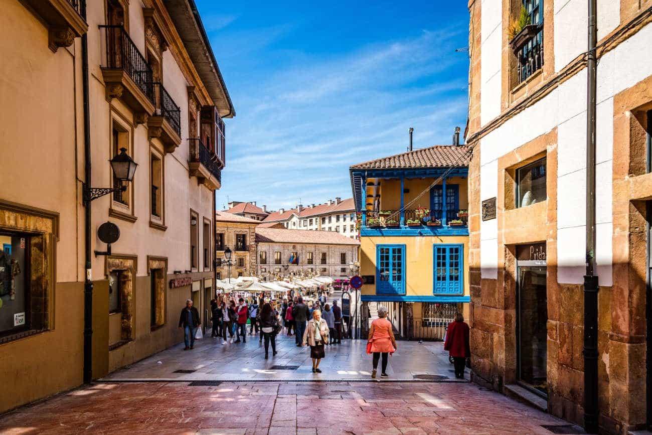 Casco histórico Oviedo