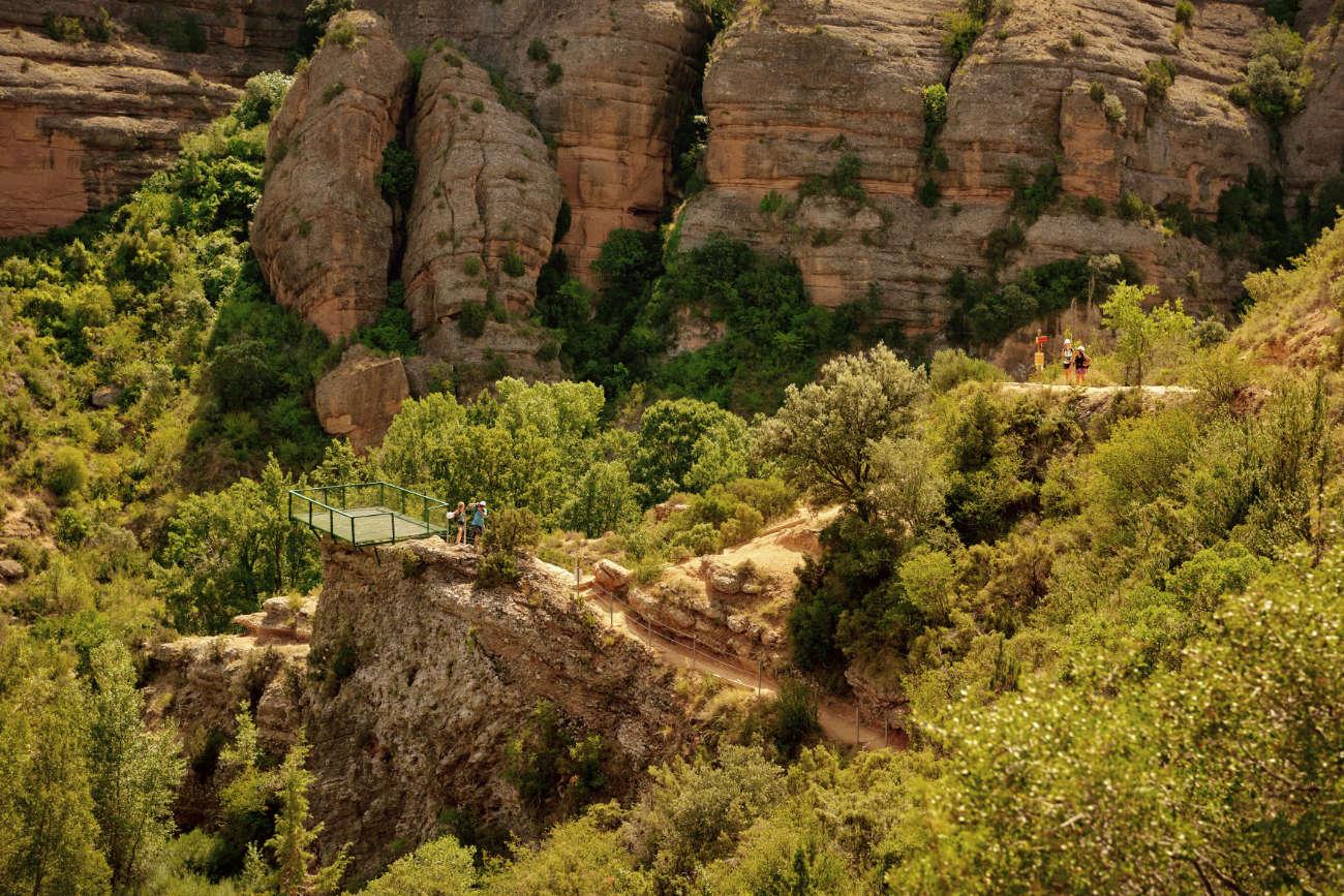 Rio Vero Alquezar Huesca