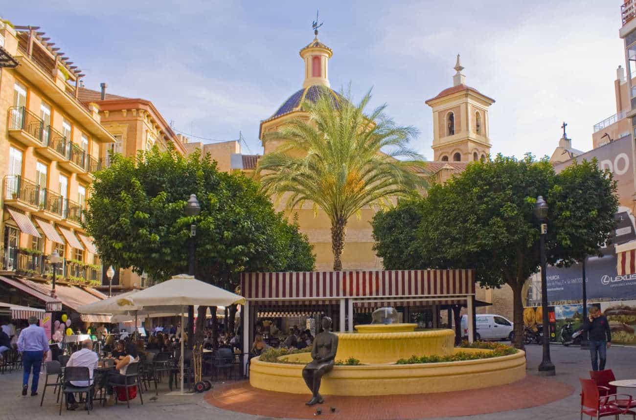 Plazade las Flores Murcia