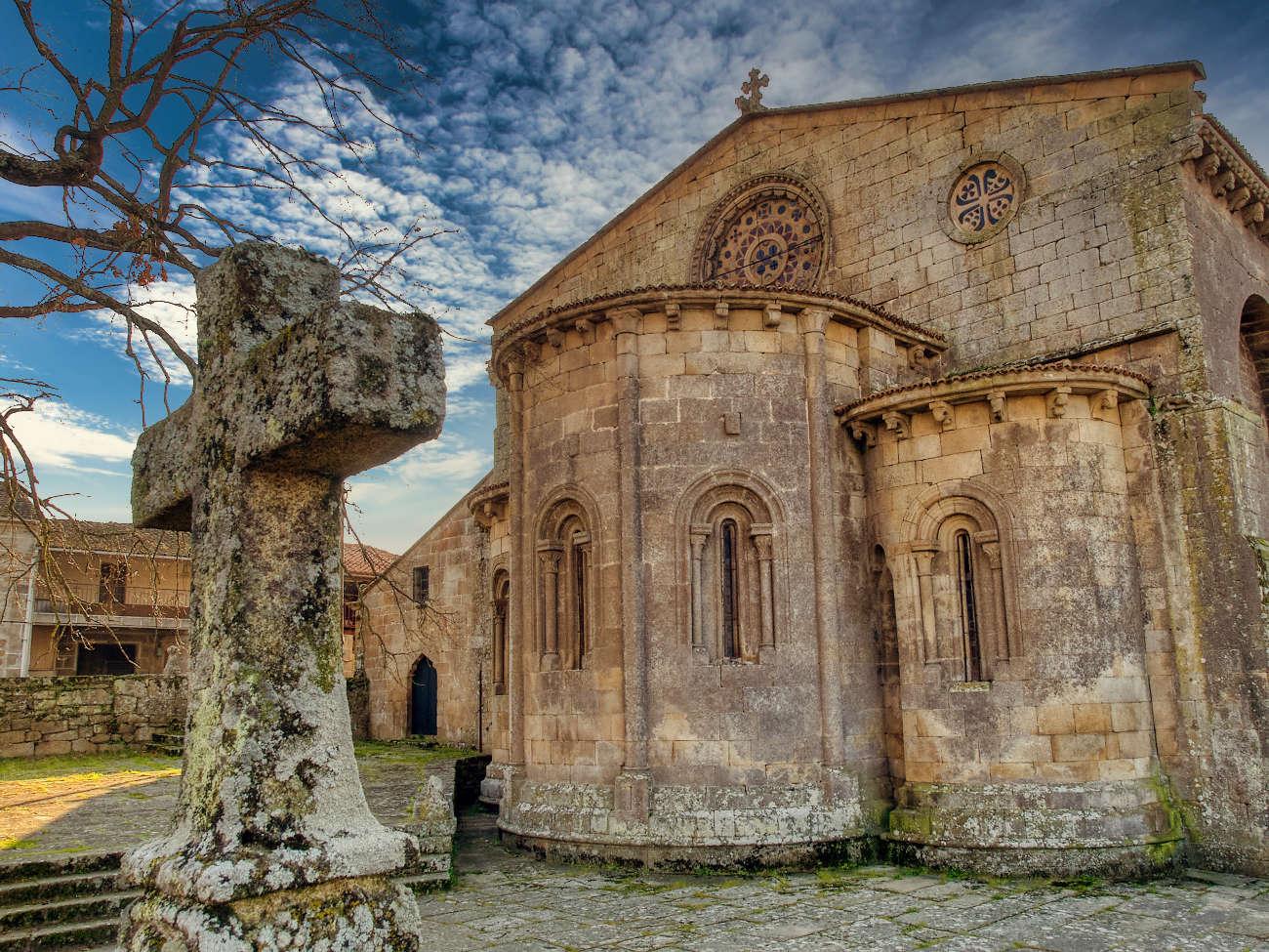 Iglesia de Santa Mariña de Augas Santas Allarid