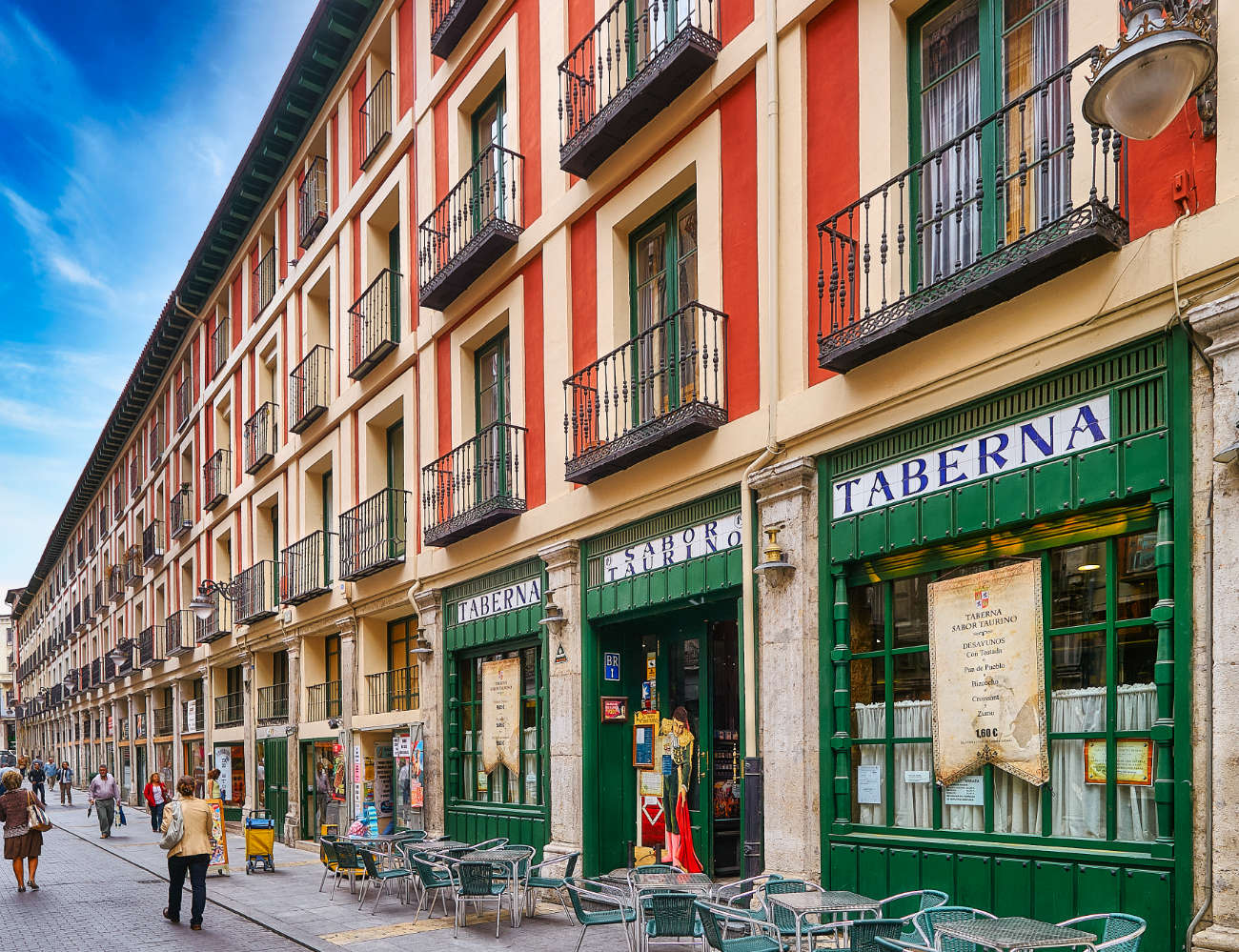 Calle Platerias Valladolid