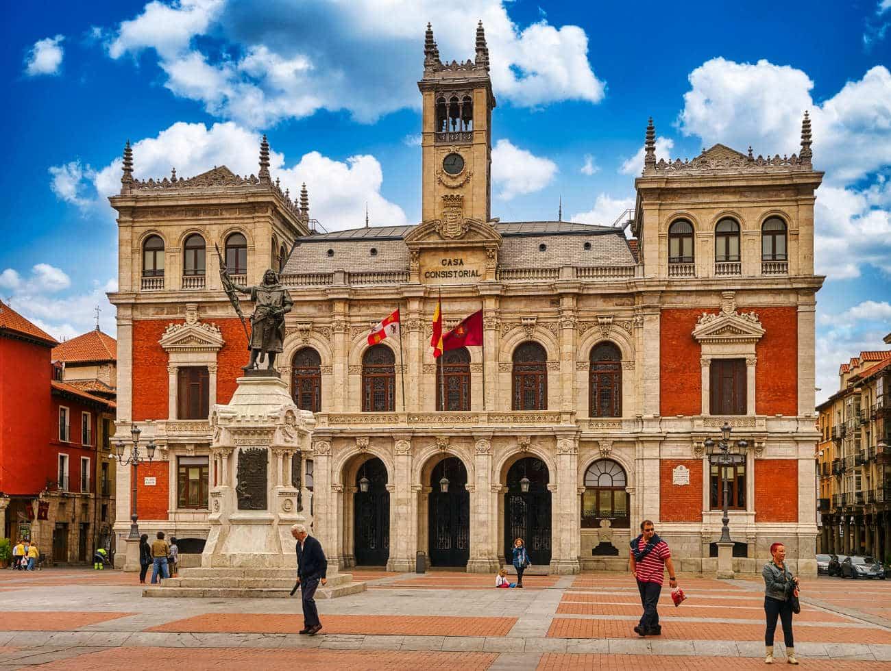 La Plaza Mayor Valladolid