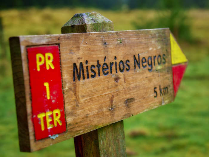 De la Lagoa do Negro a la Lagoa das Patas Terceira Azores